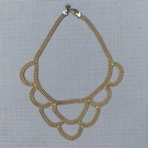 Banana Republic Gold Collar Necklace